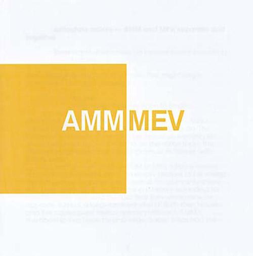 mev (musica elettronica viva) - amm - Apogee