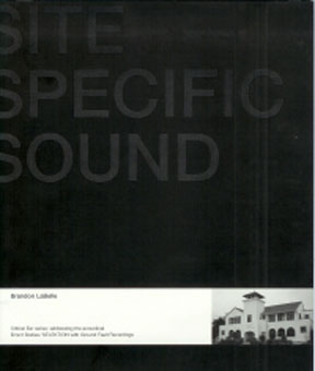 brandon labelle - Site specific sound