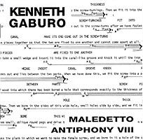 Lingua II: Maledetto / Antiphony VIII