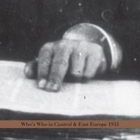 WHO'S WHO IN CENTRAL & EAST EUROPE 1933