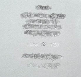 dan carey - shadowgraph