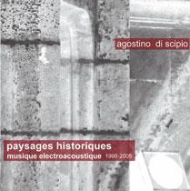 agostino di scipio - Paysages historiques