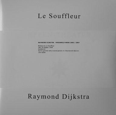 raymond dijkstra - Verzameld werk 4LP set