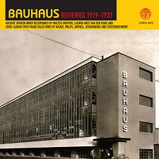 BAUHAUS REVIEWED 1919-1933