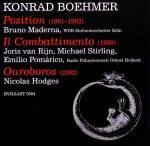 KONRAD BOEHMERPOSITION - IL COMBATTIMENTO - OUROBOROS