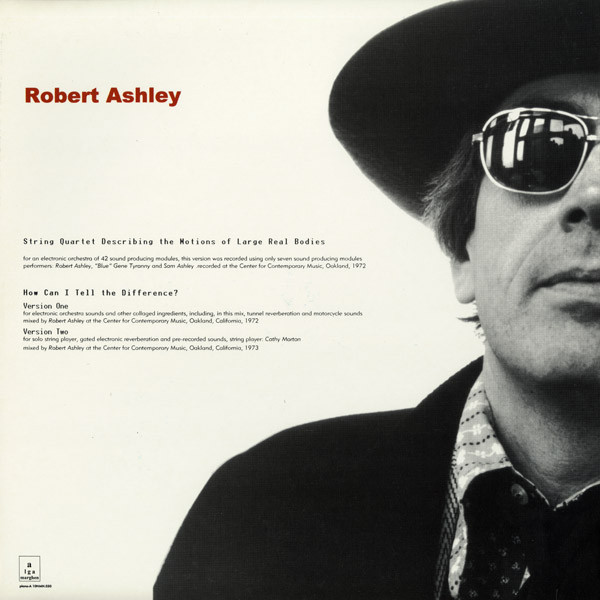 robert ashley - String quartet