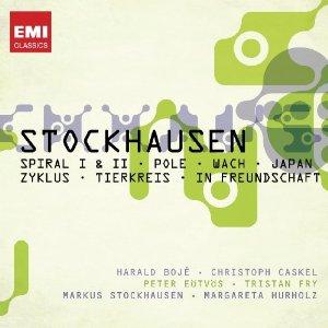 karlheinz stockhausen  - Spiral I & II, Pole, Wach, Japan, Zykus,