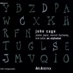 john cage - James Joyce, Marcel Duchamp, Erik Satie: An Alphabet