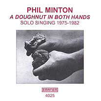 A DOUGHNUT IN BOTH HANDS